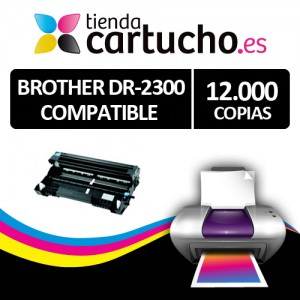 Tambor Brother DR-2300 compatible PARA LA IMPRESORA Brother HL-L2340DW Toner