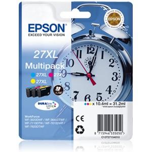 Epson 27XL Multipack. T2711, T2712 y T2713 Cartuchos de tinta original PARA LA IMPRESORA Epson WorkForce WF-7110DTW Tinteiros