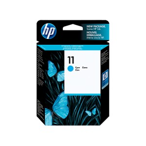 HP 11 Cyan Cartucho de tinta Original PARA LA IMPRESORA HP OfficeJet K850 Tinteiros