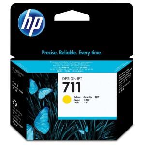 HP 711 ORIGINAL AMARILLO PERTENENCIENTE A LA REFERENCIA HP 711 Tinteiros