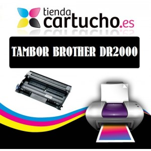 TAMBOR BROTHER DR-2000, SUSTITUYE AL TAMBOR ORIGINAL DR 2000 PARA LA IMPRESORA Brother HL-2050 Toner