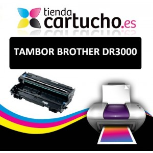 TAMBOR BROTHER DR-3000, SUSTITUYE AL TAMBOR ORIGINAL DR 3000 PERTENENCIENTE A LA REFERENCIA Brother DR-510 Tambor