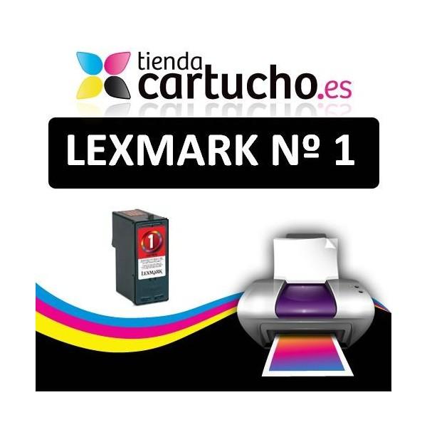 Tinteiro compatível LEXMARK n º1 (21 ml.) Substitui ao tinteiro original (REF. 018CX781E)