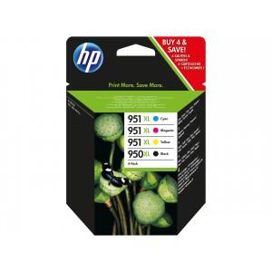 HP 950XL PACK ORIGINAL  PARA LA IMPRESORA HP OfficeJet Pro 8610 eAiO Tinteiros
